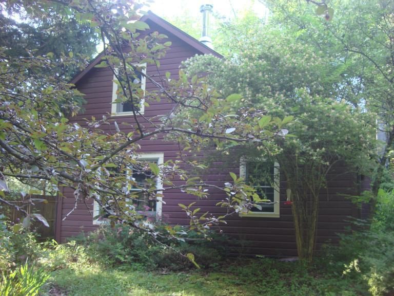 Garden and house exterior, West Shokan, NY-05