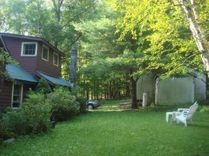 Garden and house exterior, West Shokan, NY-07