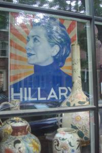Hillary Clinton election poster 6th Street Philadelphia June 2015-1