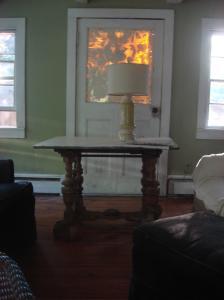 Interior of house, West Shokan, NY-01