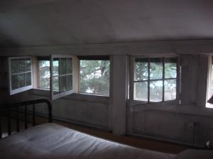 Interior of house, West Shokan, NY-18