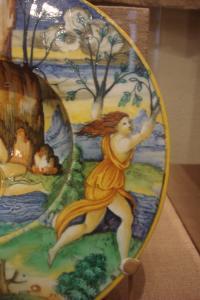 Apollo chasing Daphne; Guido Durantino, 1535-1