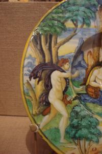 Apollo chasing Daphne; Guido Durantino, 1535-2