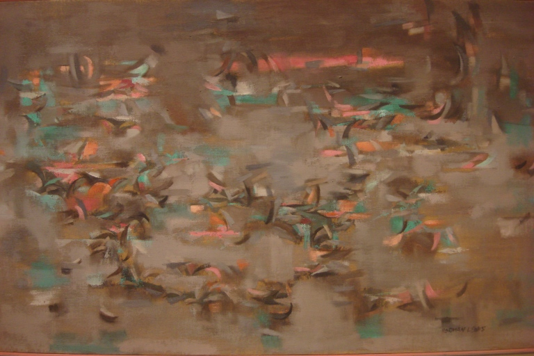 Norman Lewis abstract paintings-18
