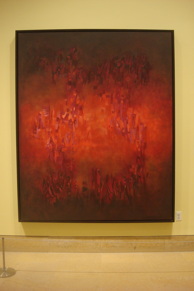 Norman Lewis abstract paintings-39