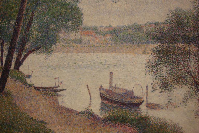 Seurat, Gray Weather, Grande Jatte, 1886-88-1