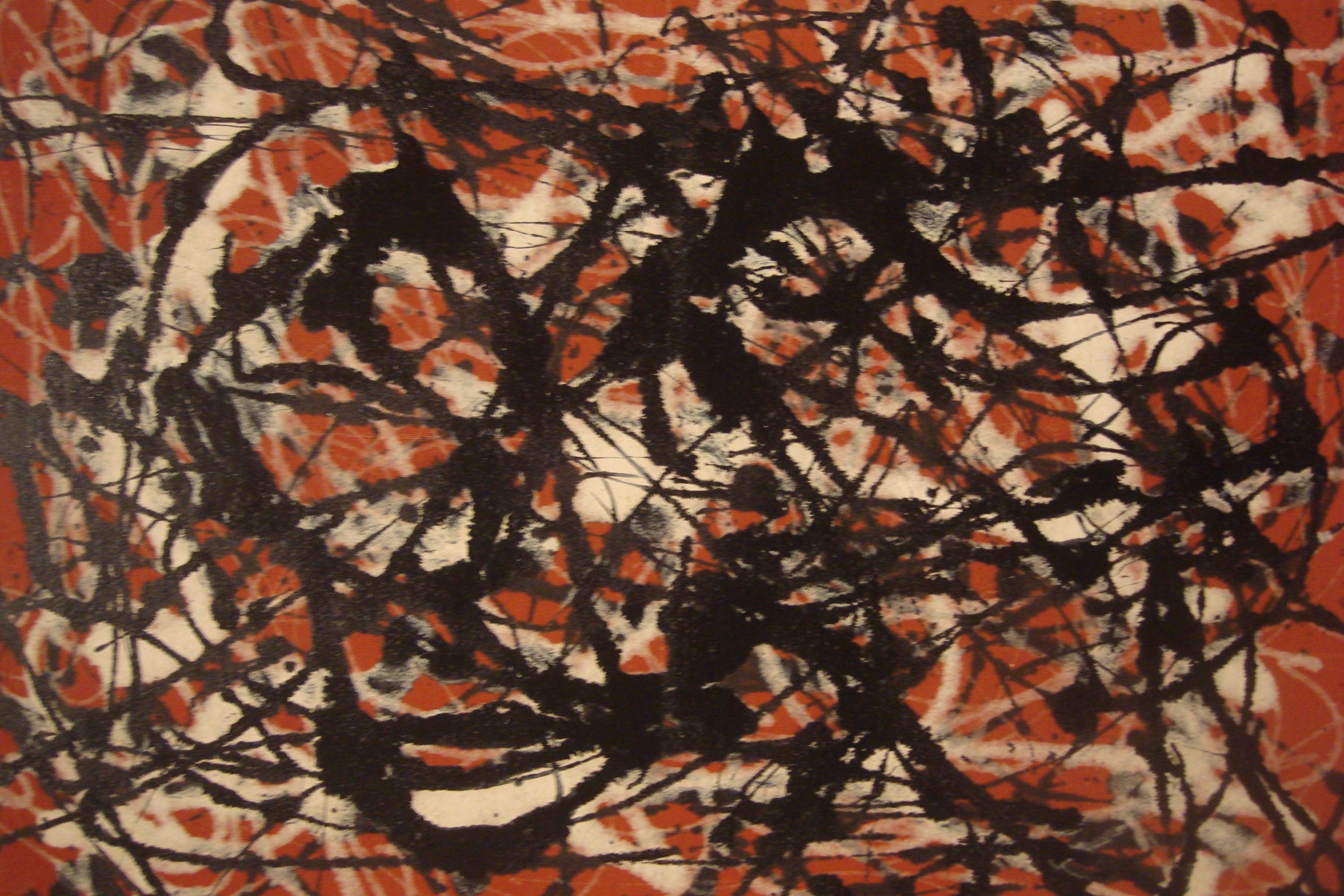Jackson Pollock: from representation to abstract expression – Vin ...