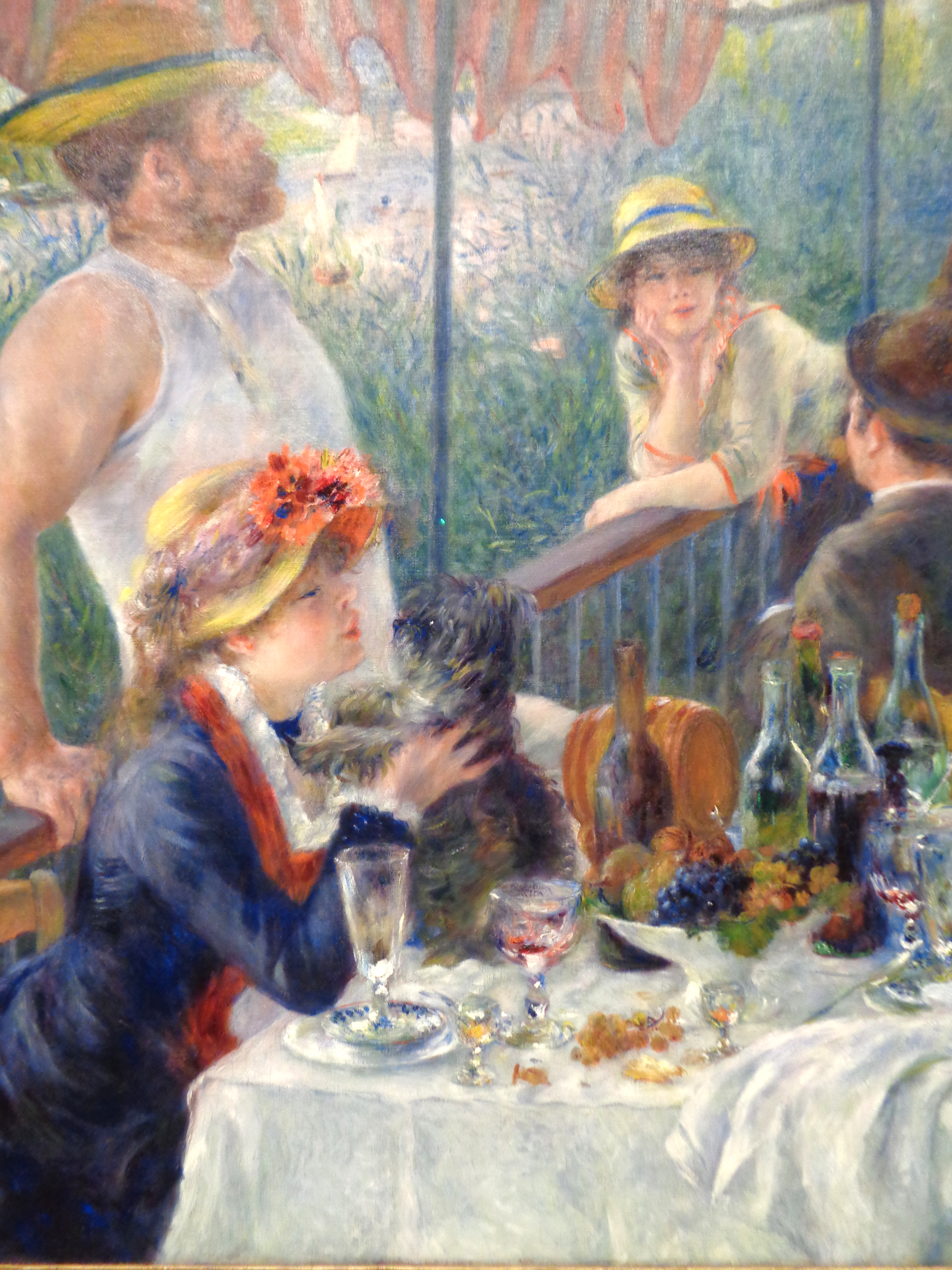 Art analysis of the luncheon of