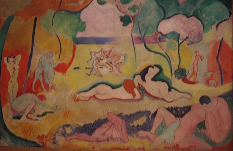 Matisse The Joy of Life 1904-05-1