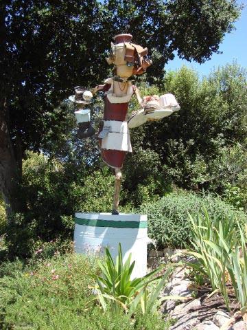 Patrick Amiot sculpture, Sebastopol, CA on July 7 2009 22