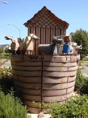 Patriick Amiot Noah's Ark, Sebastopol, CA on July 7, 2009