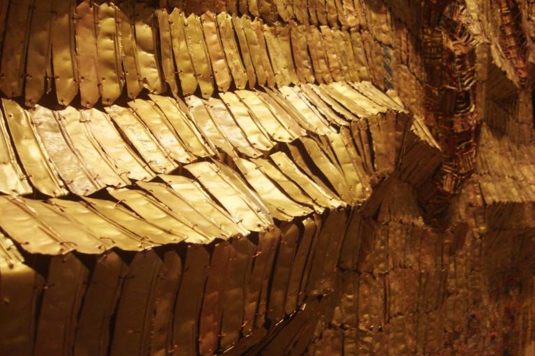 El Anatsui Between Heaven and Earth 2006 Metropolitan NY-7