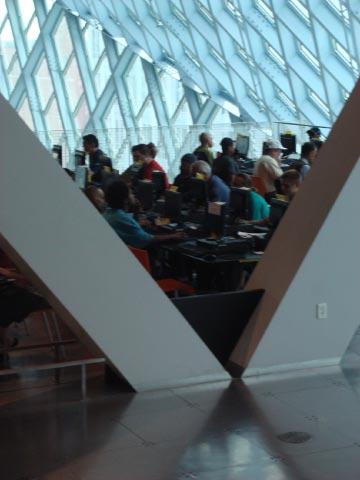 Rem Koolhaas' Seattle Public Library July 09 50